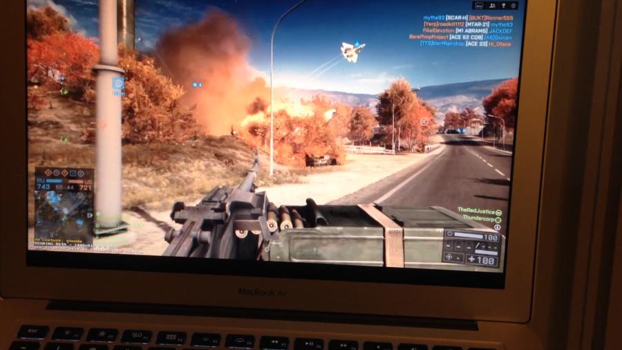 Steam In-Home Streaming on a Mac: Battlefield 4 on a MacBook Air